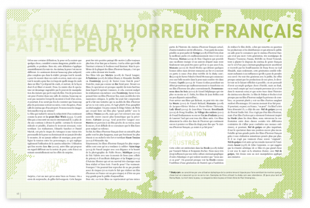 Cut - Le cinéma d'horreur français