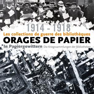 1914-18 - les collections de guerre des bibliothèques