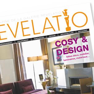 Magazine de la galerie Revelatio  Agence: Conjonxion